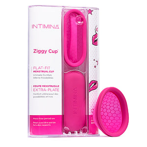 Disco menstrual Ziggy Cup  by INTIMINA