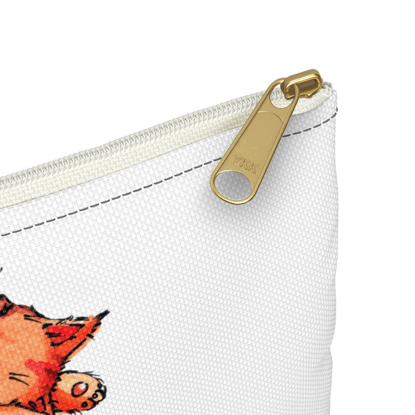Cute Sleeping Cats Zipper Pouch - Gift for Cat Lovers - CatCottageDesign