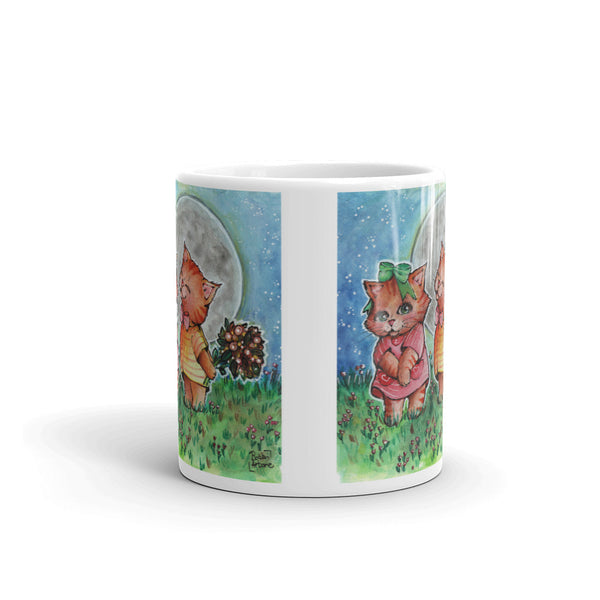 Funny Valentine Mug - Gift for Cat Lovers - CatCottageDesign