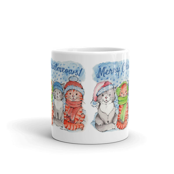 Merry Christmeows! | Christmas coffee mug