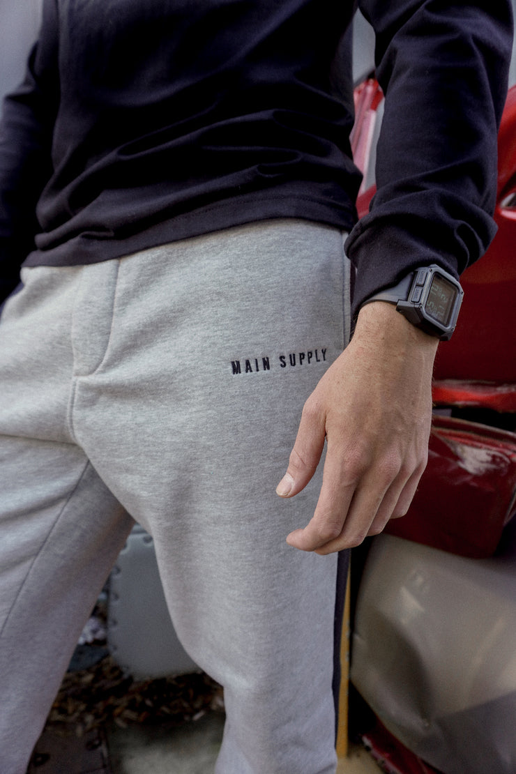 Simple Grey Sweat Pants