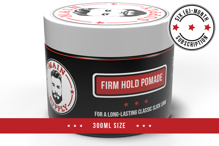 Maxi Firm Hold Pomade - 6 Month Subscription