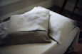 handmade linen cushion cover Hanlie Joubert