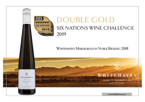 Nobel Riesling, Double Gold, Six Nations Wine Challenge