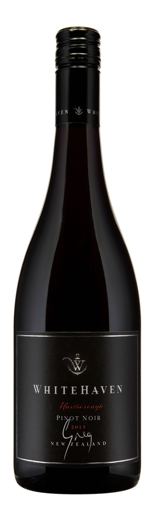 2013 Whitehaven Greg Pinot Noir - Whitehaven Wines