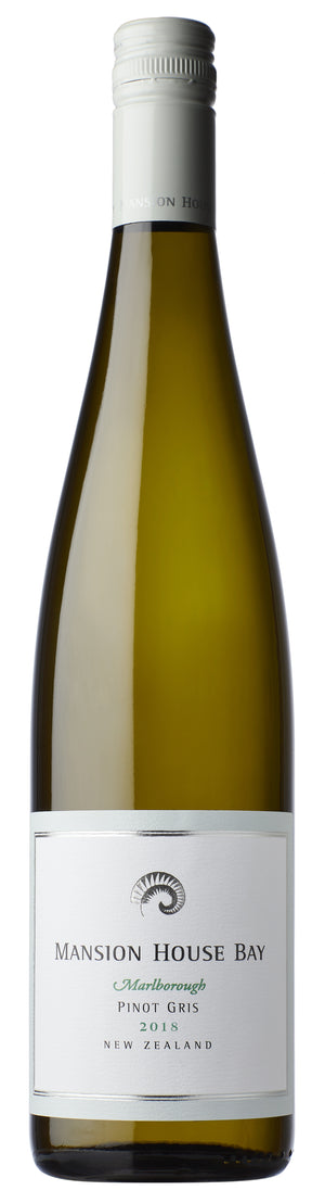 2018 Mansion House Bay Marlborough Pinot Gris - Whitehaven Wines