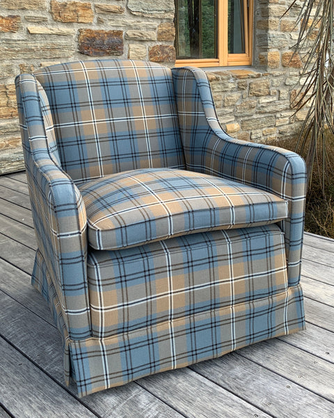 Worsted Wool Armchair
