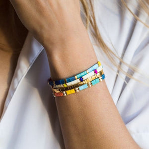 Go2boho Tila Beads Bracelets MIYUKI Bracelet For Women Summer Beach Boho Chic Jewelry Friendship Pulseira Mujer 2019 Handmade
