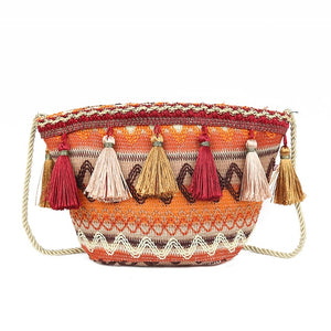 Tassel Messenger Bag Boho Tote