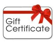 GIFT CERTIFICATE-1/2 HOUR READING