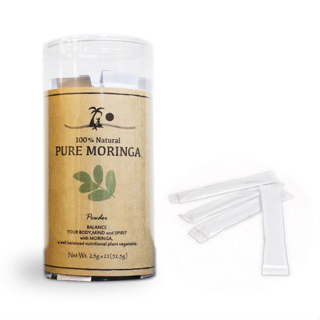 PURE MORINGA powder (stick type) 21 sticks