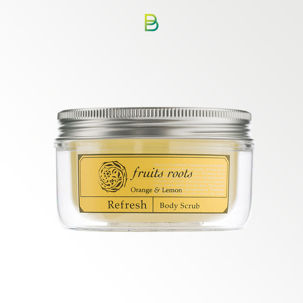 Fruits roots Refresh body scrub 180ml