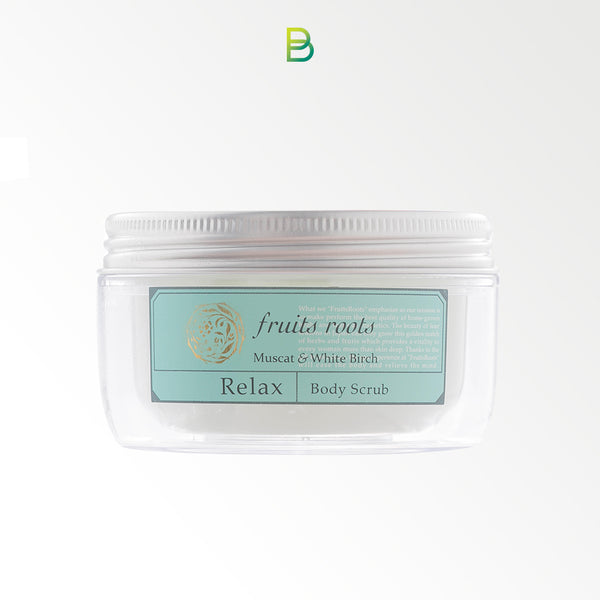 Fruits roots Relax body scrub 180ml