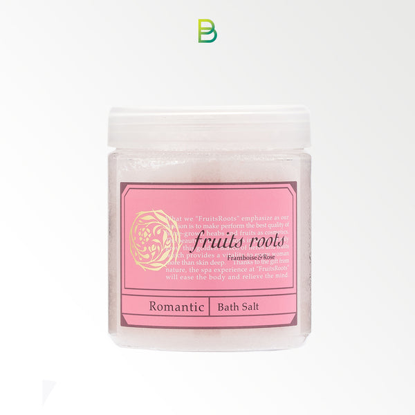 Fruits roots Romantic bath salt 200ml