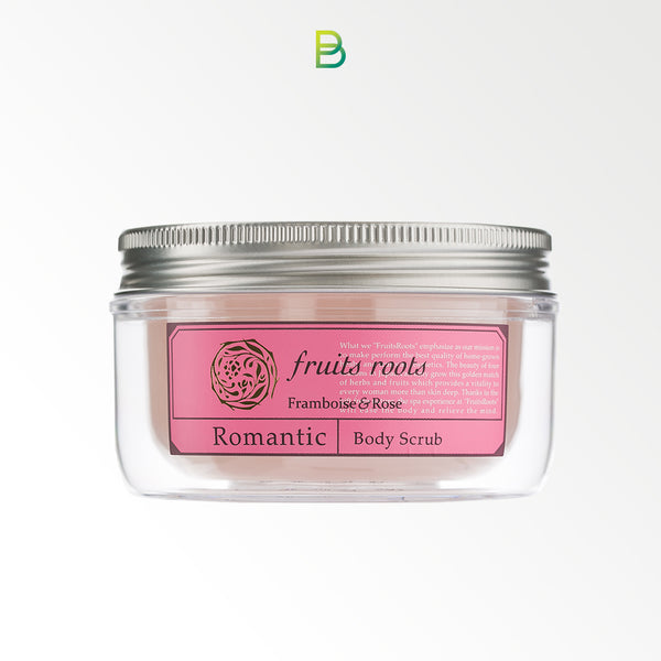 Fruits roots Romantic body scrub 180ml