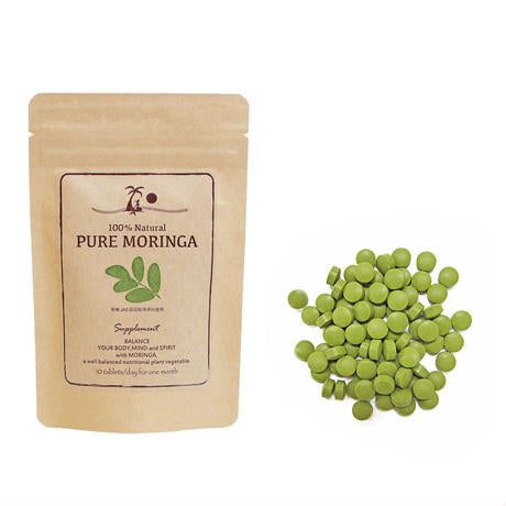 PURE MORINGA supplements 300 tablets