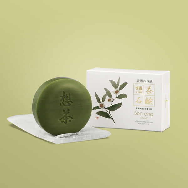 Soh-cha Green tea soap 100g