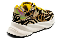 Load image into Gallery viewer, Elena Iachi Sneakers Δίπατα - Animal Print