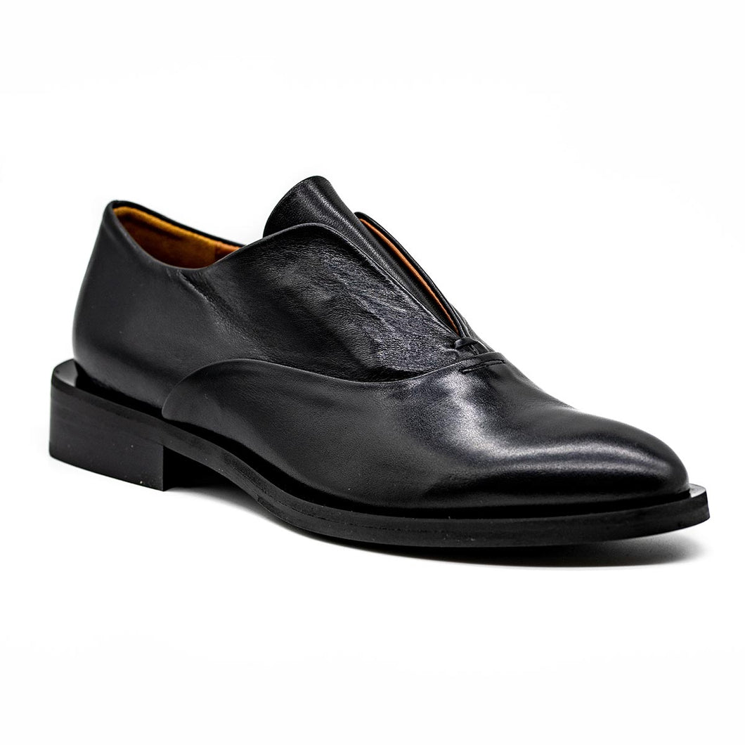 Oxfords Slip on - Μαύρα