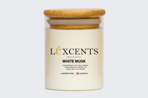 WHITE MUSK LUX | LUXCENTS DESIGNER INSPIRED CANDLE