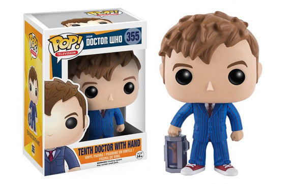 Pop! TV: Doctor Who - Tenth Doctor With Hand 355