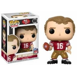 POP NFL: Legends - Joe Montana (49ers Home) 84