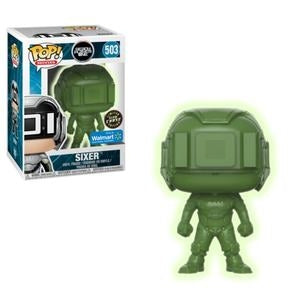 Pop! Movies: Ready Player One - Sixer 503  Exclusive Glow Chase !