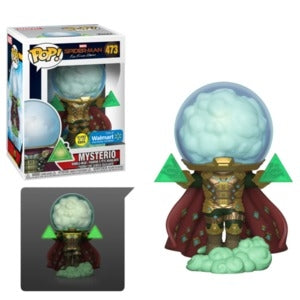 Pop! Marvel: Spider-Man Far From Home - Mysterio 473 (Glow)