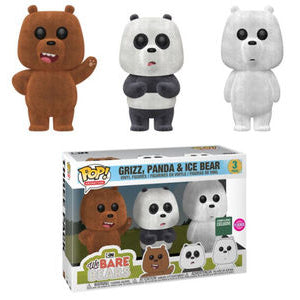We bare bears 3 pack