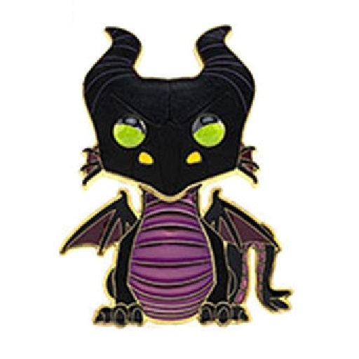 Large Enamel Pop! Pin: Disney S2 - Maleficent 10 CHASE