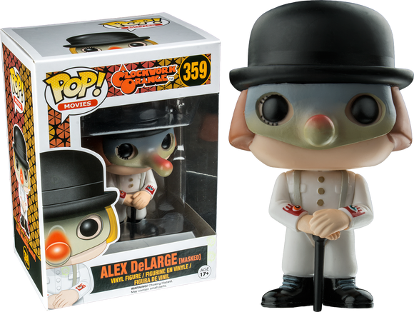 Pop! Movies: Clockwork Orange - Alex DeLarge (Masked) 359