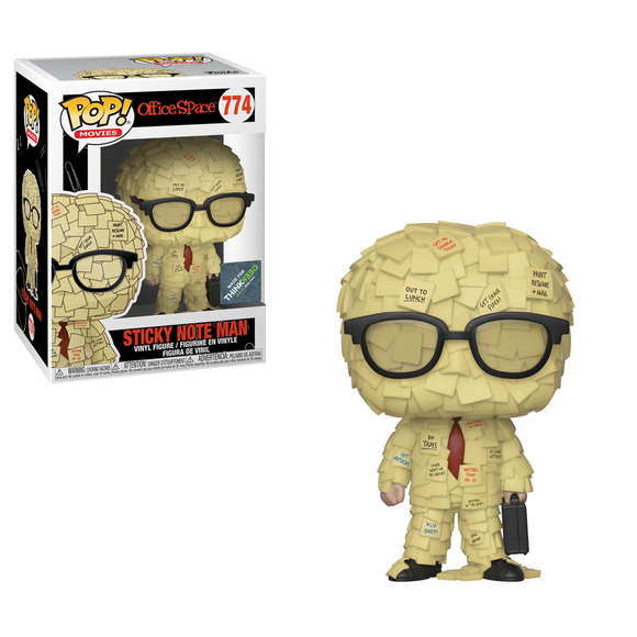Pop! Movies: Office Space - Sticky Note Man 774