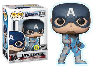 Pop! Marvel: Avengers: Endgame - Captain America 450  GID