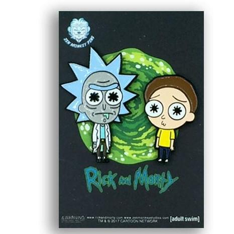 Lil' Rick & Morty Set - Rick & Morty Enamel Pin