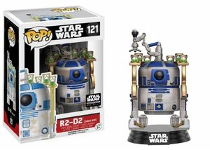 POP! Star Wars - R2-D2 Smuggler's Bounty Exclusive FUNKO #121