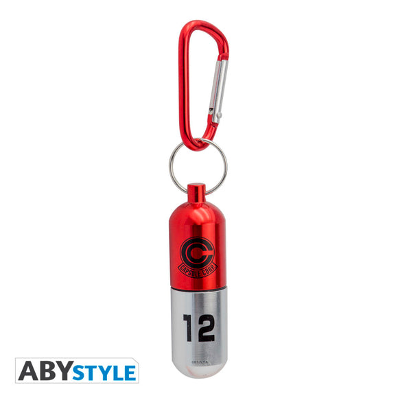 Dragon Ball Z - Red Capsule Corp. 3D Keychain