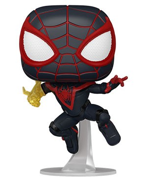 POP Games: Marvel's Spider-Man Miles Morales Miles (Classic Suit)