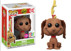 Pop! Books: The Grinch - Max #13 Flocked Go Exclusive