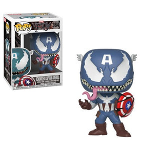 POP Marvel: Marvel Venom - Venom/Captain America