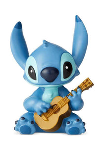 Disney Showcase - Stitch Hugs - Stitch with Guitar Mini Figurine