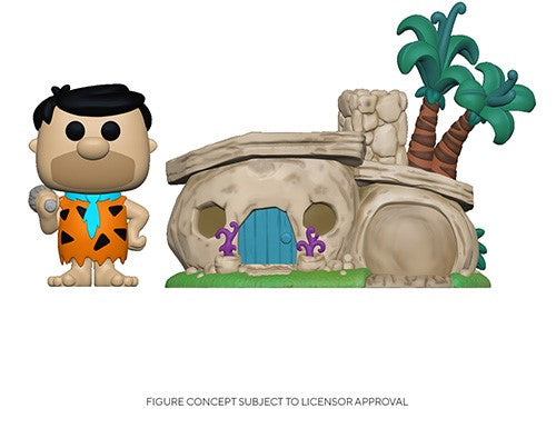 POP Town: Flintstones- Flintstone's Home