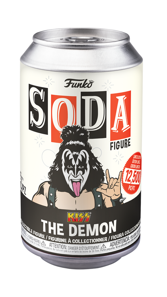 Funko Soda: Kiss - The Demon w/ Chase