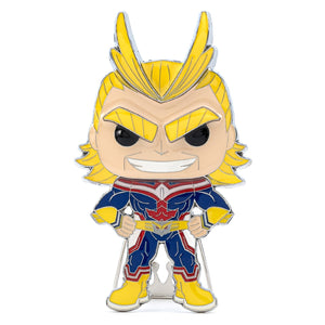 Large Enamel Pop! Pin: MHA - All Might 02
