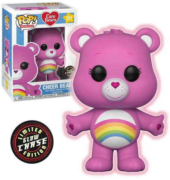 Pop! Animation: Care Bears - Cheer Bear #351 CHASE