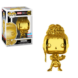 POP Marvel: MS 10 - Shuri (Chrome) 393 Fall Convention