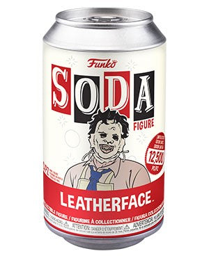 Funko SODA:  Texas Chainsaw Massacre - Leatherface w/ Chase