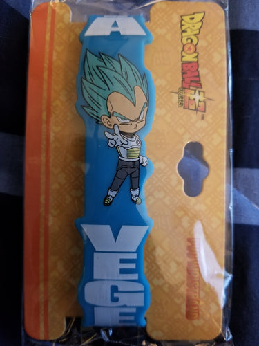 Dragonball Z Vegeta blue wristband