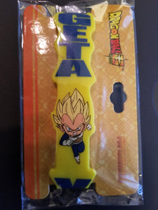 Dragonball Z Vegeta yellow wristband