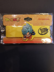 Dragonball Z Goku Yellow wristband
