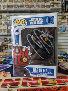 Darth Maul Signed